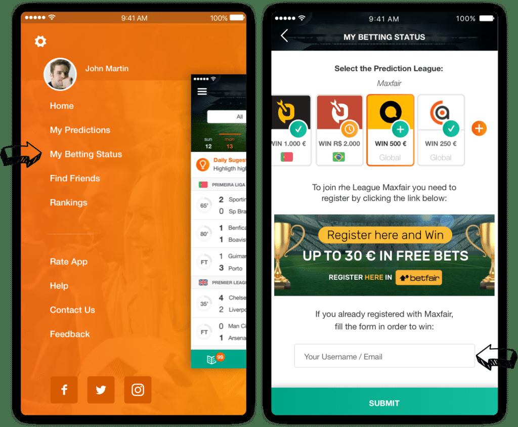 Betting Site username Betarena Mobile Version