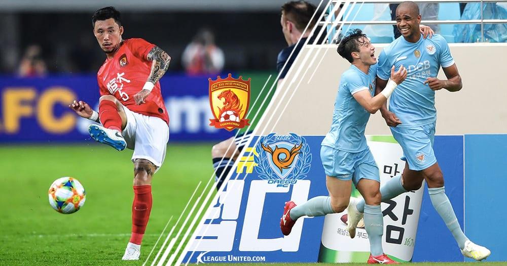 Guangzhou Evergrande vs Daegu FC Betting Tip and Prediction