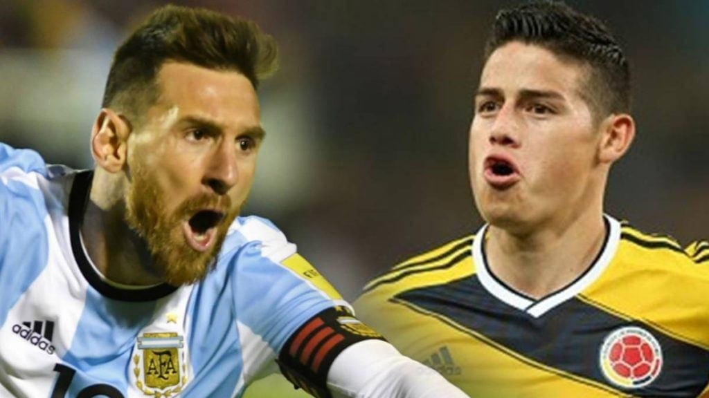 Pronóstico Argentina vs Colombia