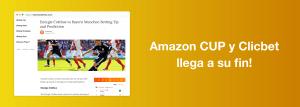 Amazon CUP ClicBet