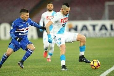 Pronóstico Napoli vs Sampdoria