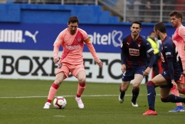 Pronóstico Eibar vs Barcelona