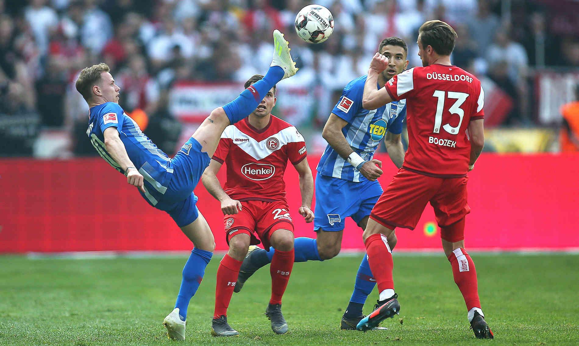 Kết quả hình ảnh cho Fortuna Düsseldorf vs Hertha BSC preview