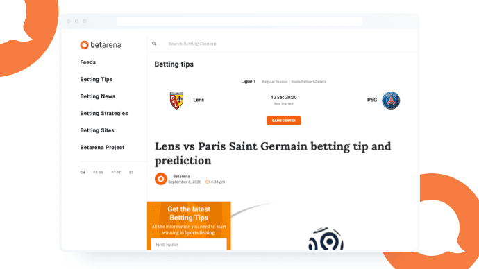 Artificial intelligence for sports betting
