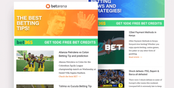 Betarena Newsletter