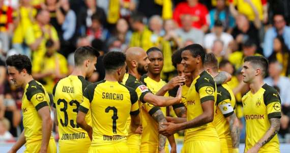 Young duo re-write Bundesliga record for Dortmund