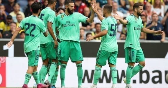 Salzburgo vs Real Madrid