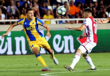 Pronóstico Ajax vs Apoel Nicosia