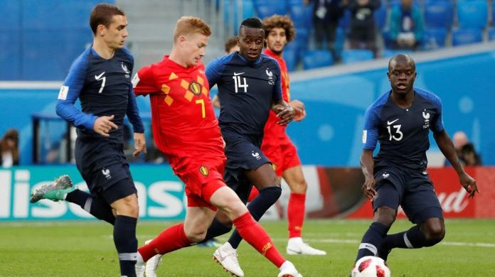 Belgium vs France