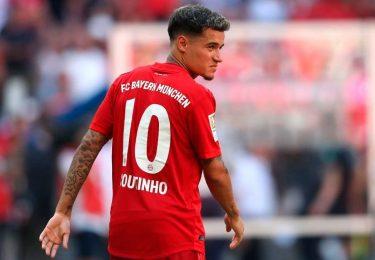 Coutinho finally back